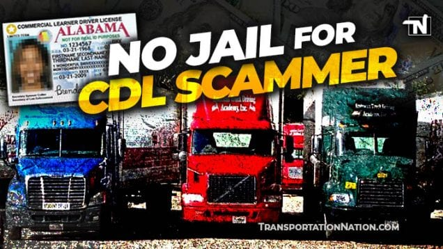 No Jail for Alabama CDL Scammer