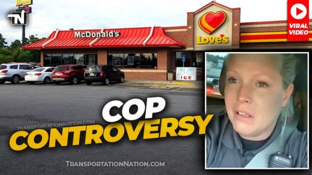 Officer Stacey Refused Service at McDonalds Besides Loves Truck Stop