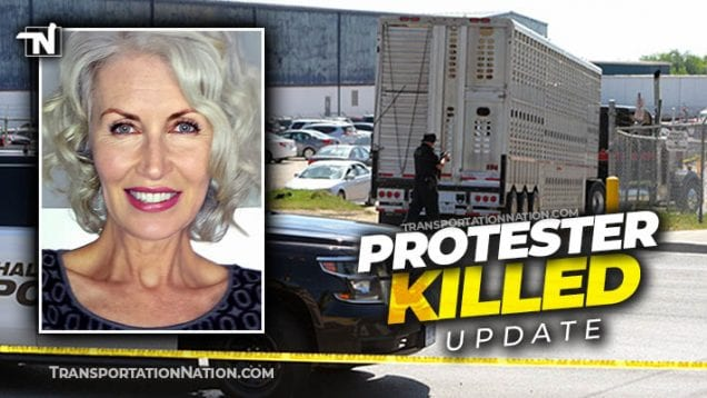 Protester Killed by Livestock Truck in Canada UPDATE