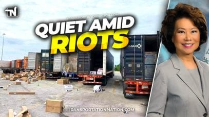 Quiet Amid Riots