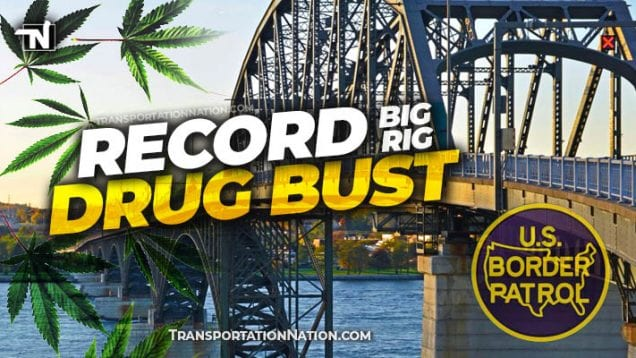 Record Big Rig Drug Bust