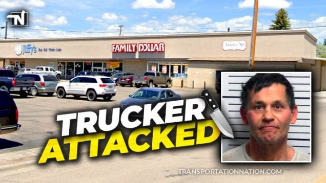 Trucker Cut in Knife Fight in Vernal, UT