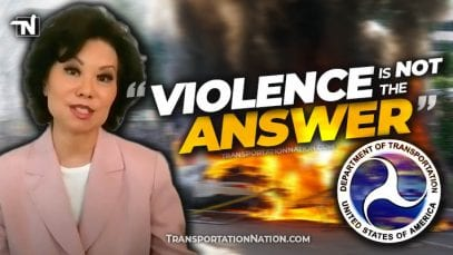 Violence is NOT the answer – DOT Secretary Elaine Chao