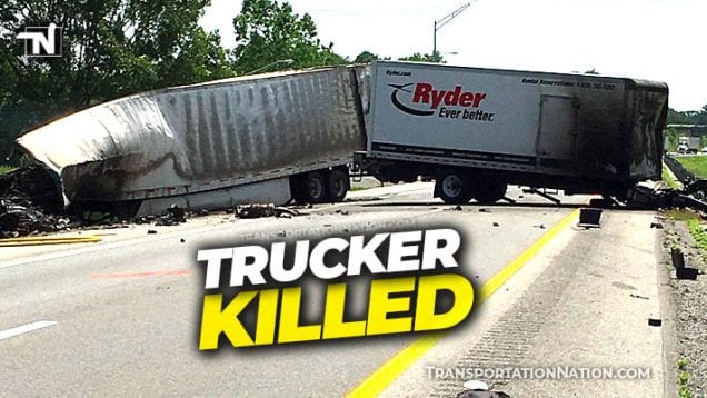 trucker killed in Christian County KY