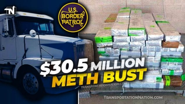 $30.5 million meth bust at Pharr