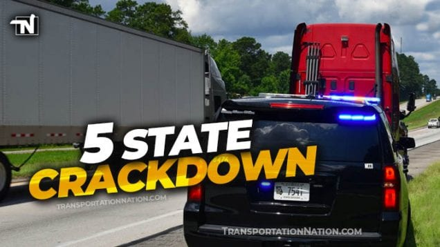 5 state speeding crackdown