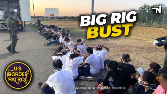 Big Rig Bust – July 13 2020 in Laredo