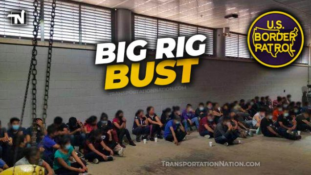 Big Rig Bust Leads to Discovery of Stash House