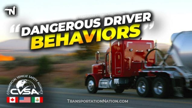 CVSA – dangerous driver behaviors