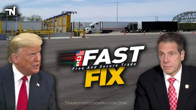 FAST Fix – President Trump and Gov Cuomo