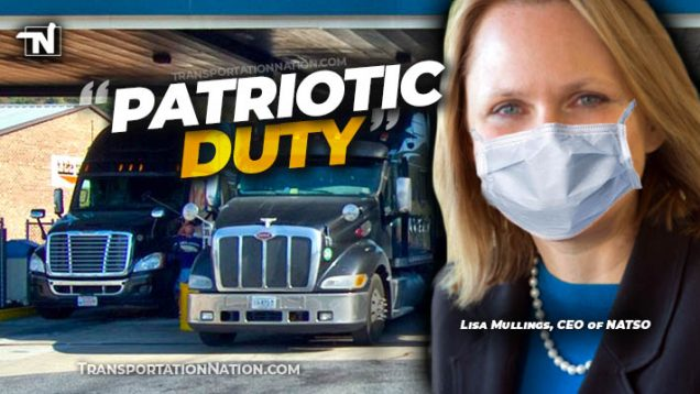 NATSO says wearing a mask is a patriotic duty