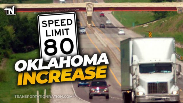 Oklahoma speed limit increase