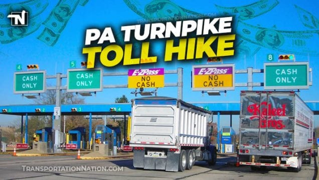 PA Turnpike Toll Hike