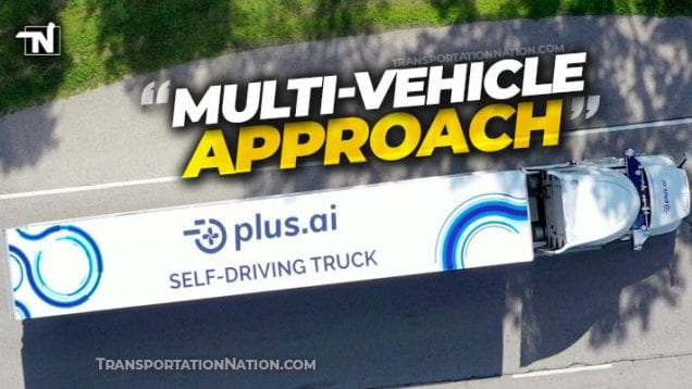 Plus.ai Multi Vehicle Approach