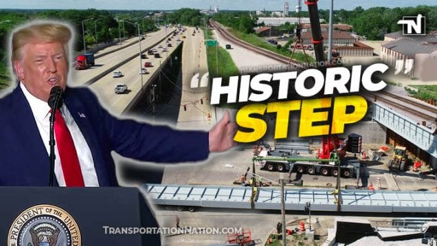 President Trump – Historic Infrastructure Step