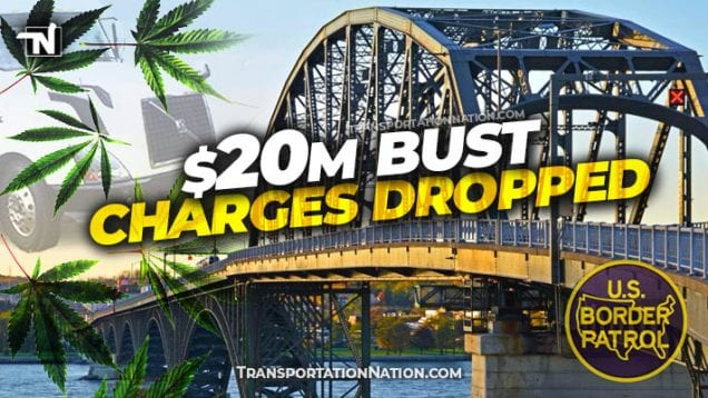 Record Big Rig Drug Bust – CHARGES DROPPED