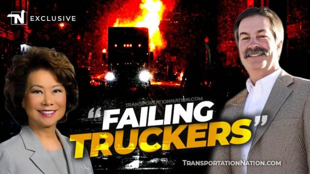 Rep Mike Moon says DOT is Failing Truckers Amid Riots x