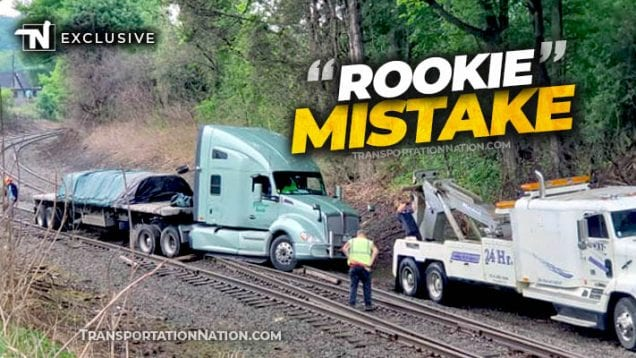 Rookie Mistake – Railroad Tracks in Franklin, PA