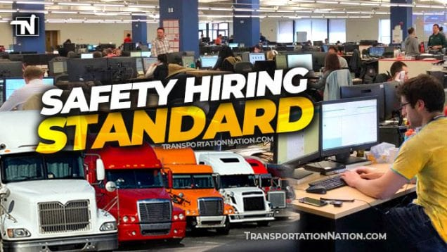 Safety Hiring Standard – TIA