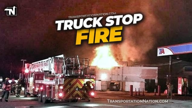 Seymour IN TA truck stop fire