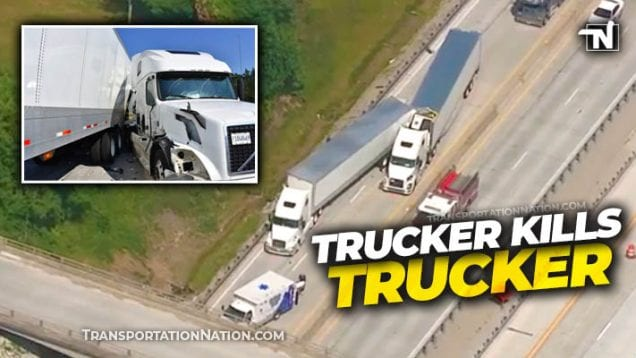 Trucker Kills Trucker in Jackson County, IN