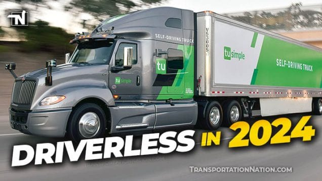 TuSimple and Navistar Partnership – Driverless in 2024
