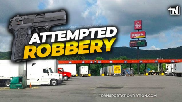 attempted robbery at GA Truck Stop