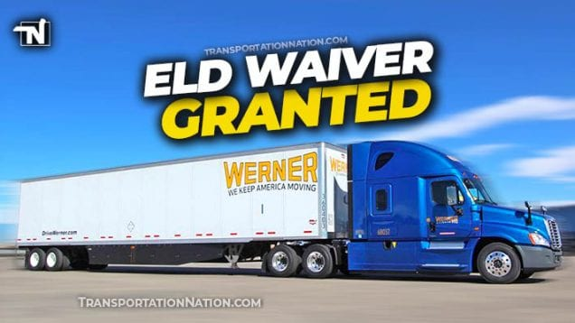 werner eld waiver request granted