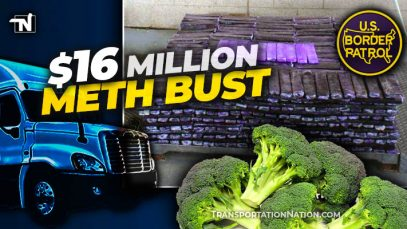 $16M meth bust – load of broccoli