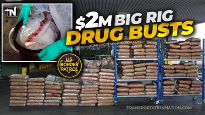 $2M Big Rig Drug Busts