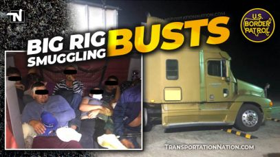 Big Rig Smuggling Busts – August 2020