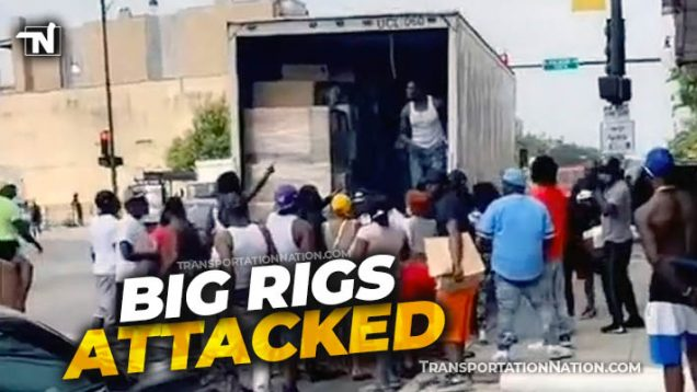 Big Rigs Attacked in Chicago