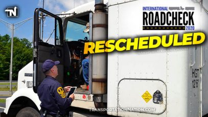 CVSA Roadcheck Rescheduled