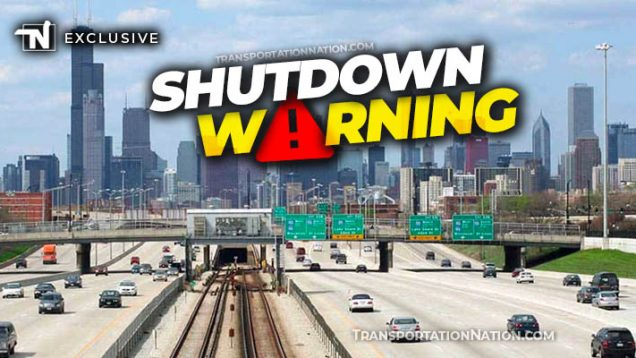 Chicago Shutdown Warning