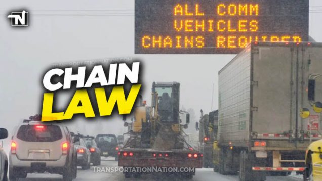 Colorado Chain Law – September 1