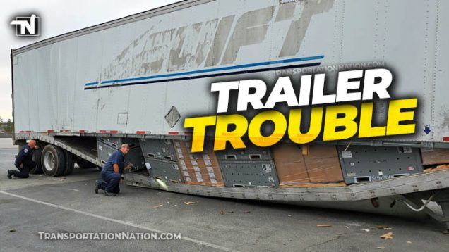 Trailer trouble Otay Mesa enforcement facility