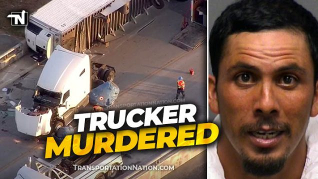 Trucker Murdered – Shot in San Antonio