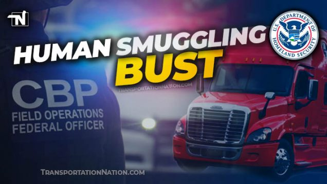 human smuggling bust in Laredo August 2020