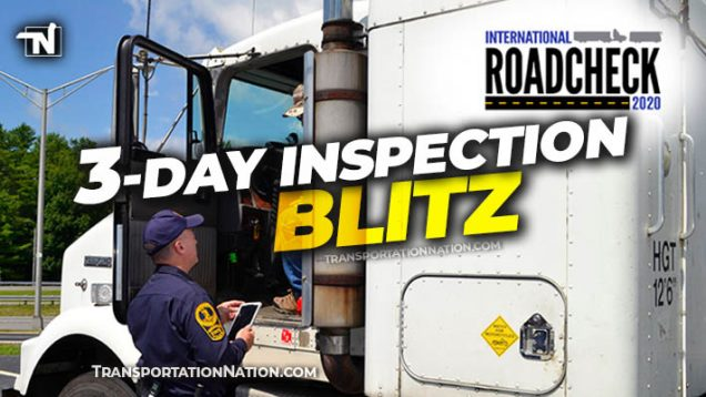 3 day inspection blitz CVSA