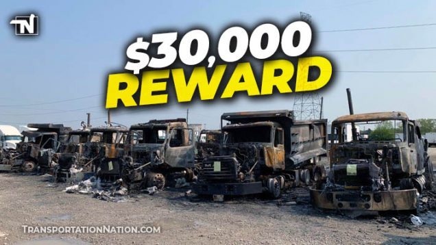 $30k Reward – Arson at M&K Truck Centers