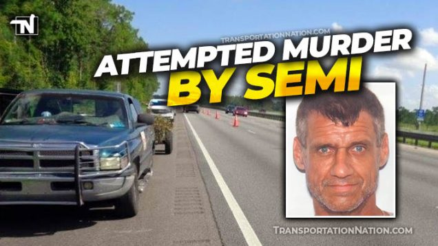 Attemped Murder by Semi on I 75 in Florida