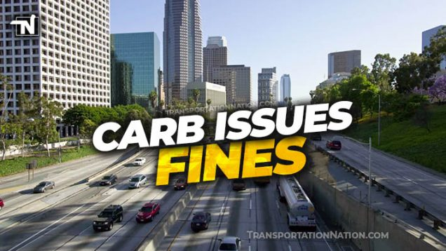 CARB issues fines