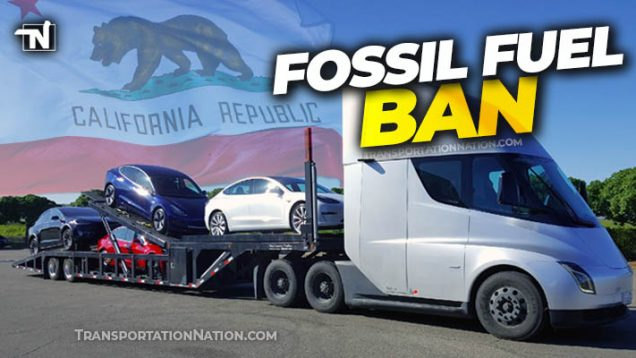 California Fossil Fuel Ban