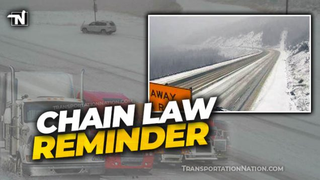 Colorado Chain Law Reminder