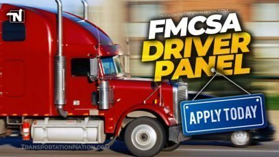 FMCSA driver panel – APPLY