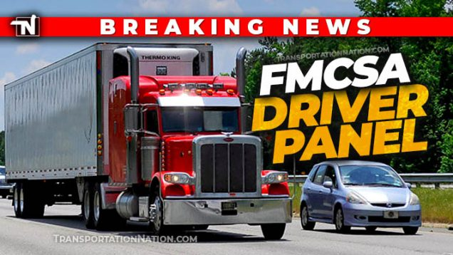 FMCSA driver panel BREAKING