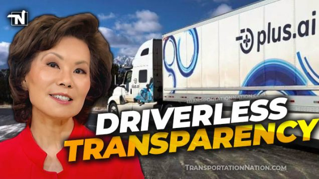 Sec Elaine Chao Driverless Transparency