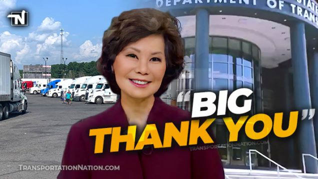 Sec Elaine Chao sends thank you to truckers – NTDAW 2020