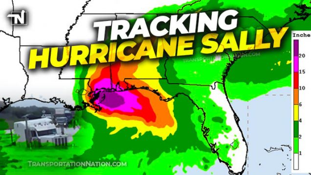 Tracking Hurricane Sally