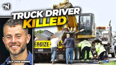 Truck Driver Killed – Evan Winner